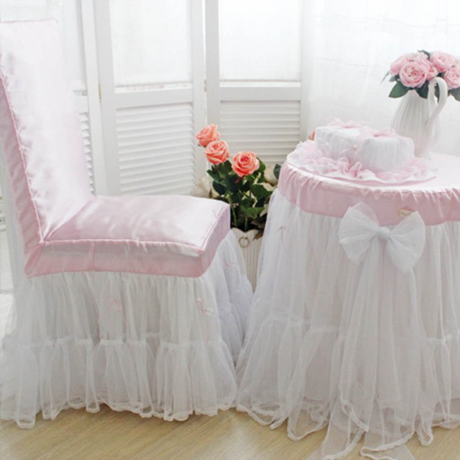 Custom Made Fitted Chair Cover Pair