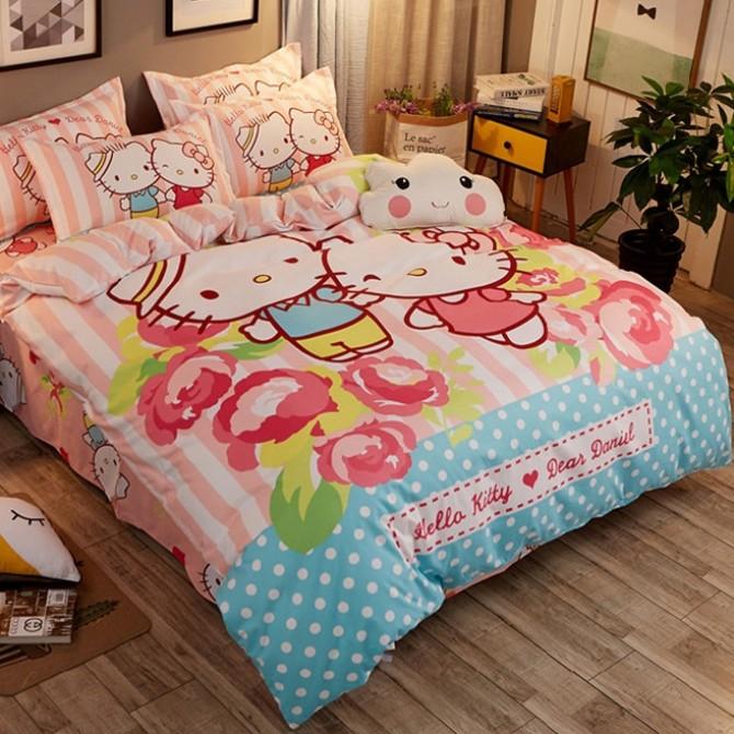Hello Kitty Rose Garden Duvet Cover Set