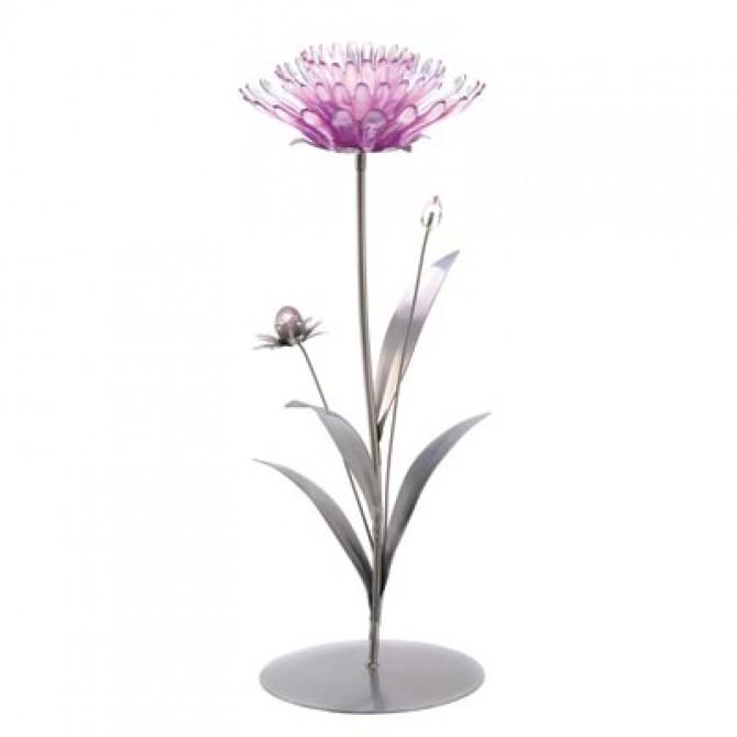 Pink Lotus Tealight Holder
