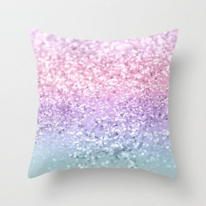 Sequin Pattern Cushion Cover G
