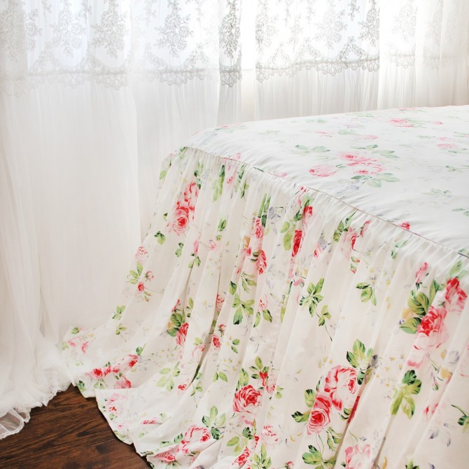 Rose Bed Skirt
