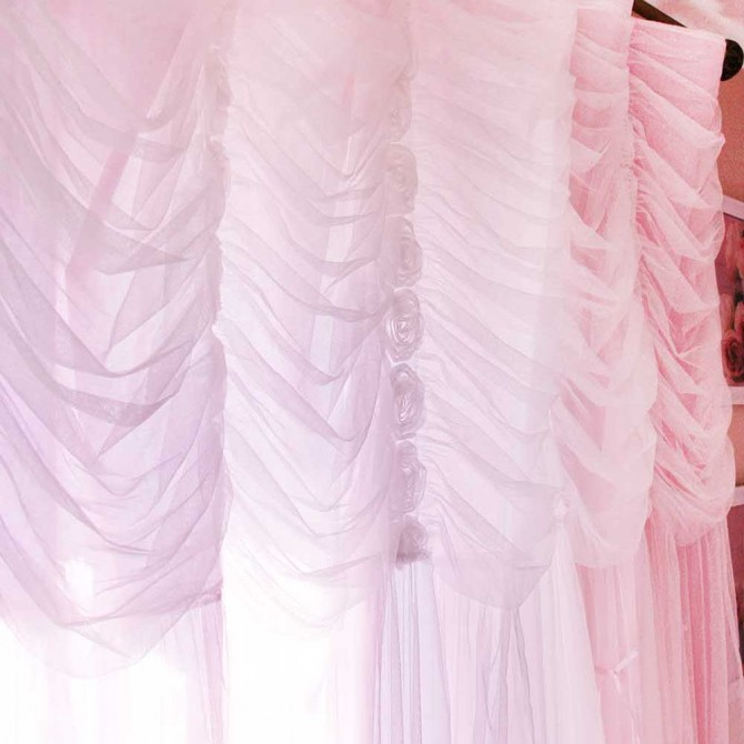 Princess Pink Curtain Panel