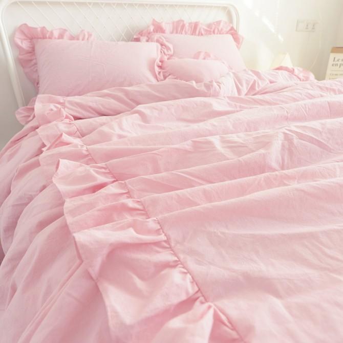 Princess Duvet Cover Set- Pink