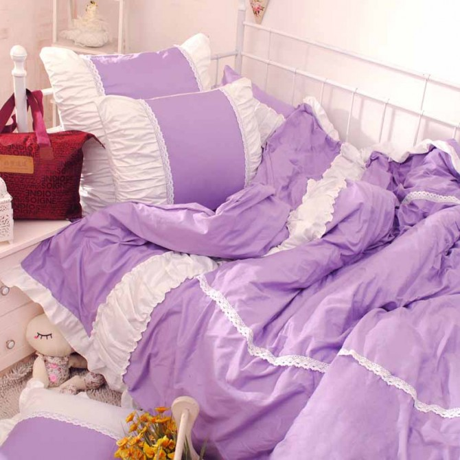 Purple Bedding Set