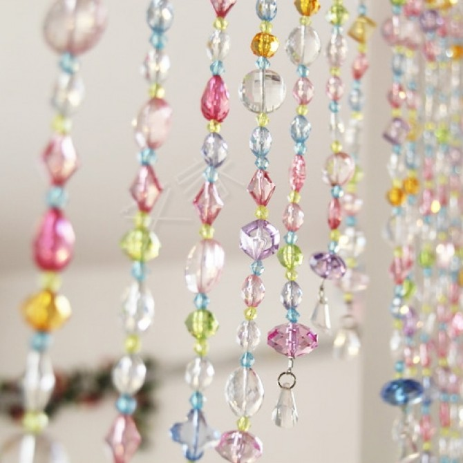Beaded String Curtain