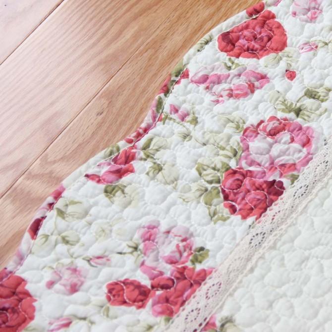 Red Rose Quilt Mat