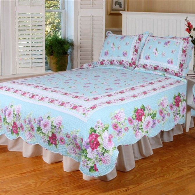 Rose Garden Quilt Bedding