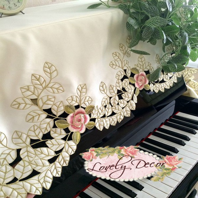 Roses & Green Leaves Piano Cover