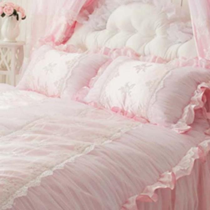 Cottage Lace Pillow Sham