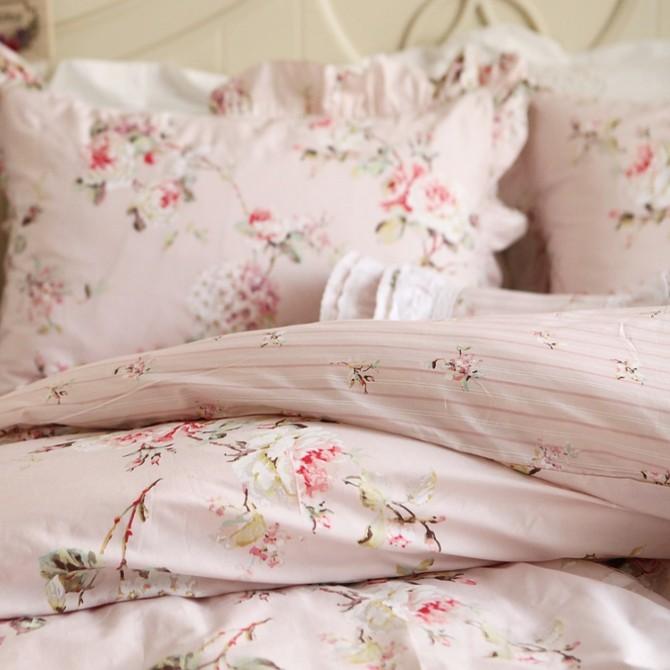 Botanic Pink Duvet Cover Set