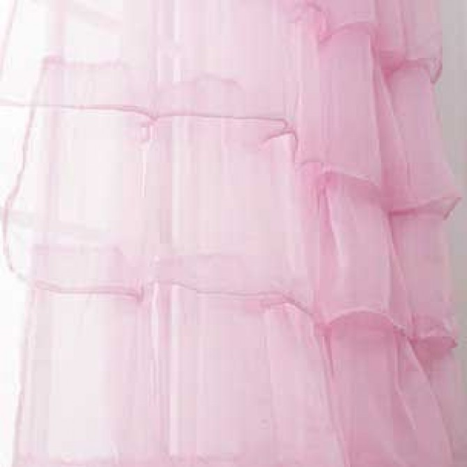 Trendy Ruffle Panel-Pink