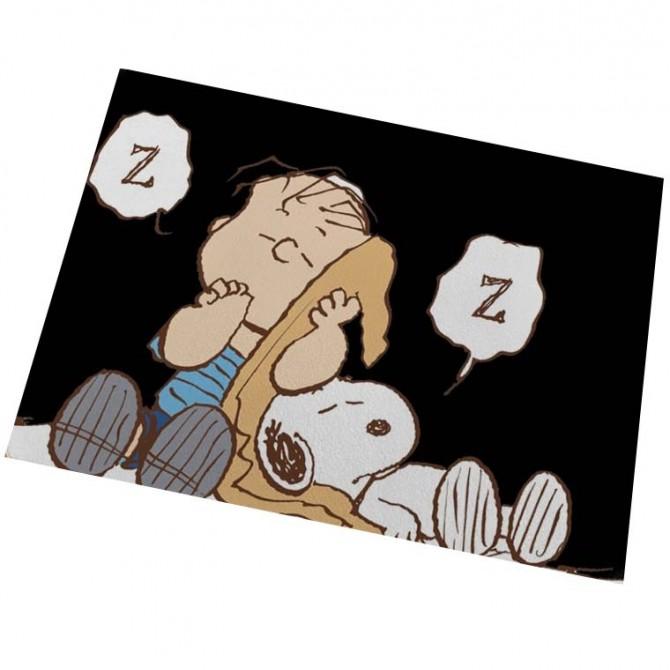 Peanuts Snoopy Sleeping Floor Mat