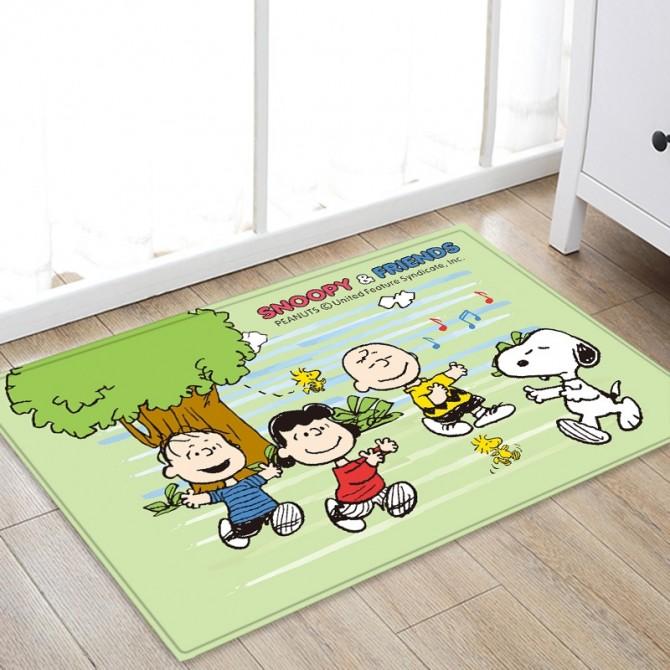 Peanuts Snoopy & Friend Floor Mat