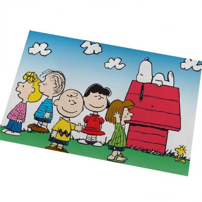 Peanuts Snoopy House Floor Mat