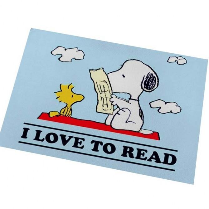 Peanuts Snoopy I Love to Read Beach Floor Mat