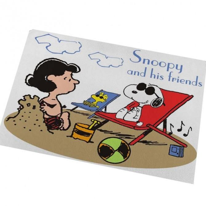 Peanuts Snoopy Beach Floor Mat