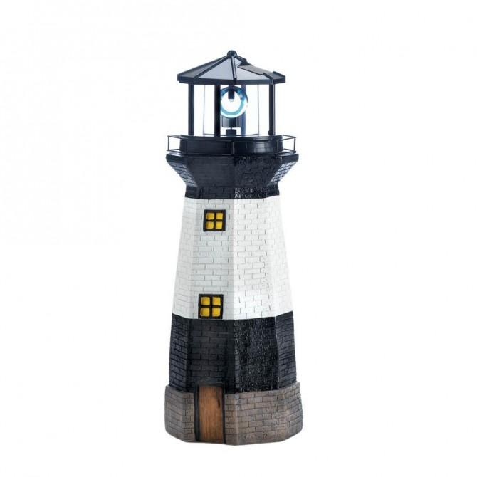 Spinning Solar Powered Lighthouse