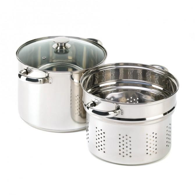Stainless Steel Pasta Cooker Set