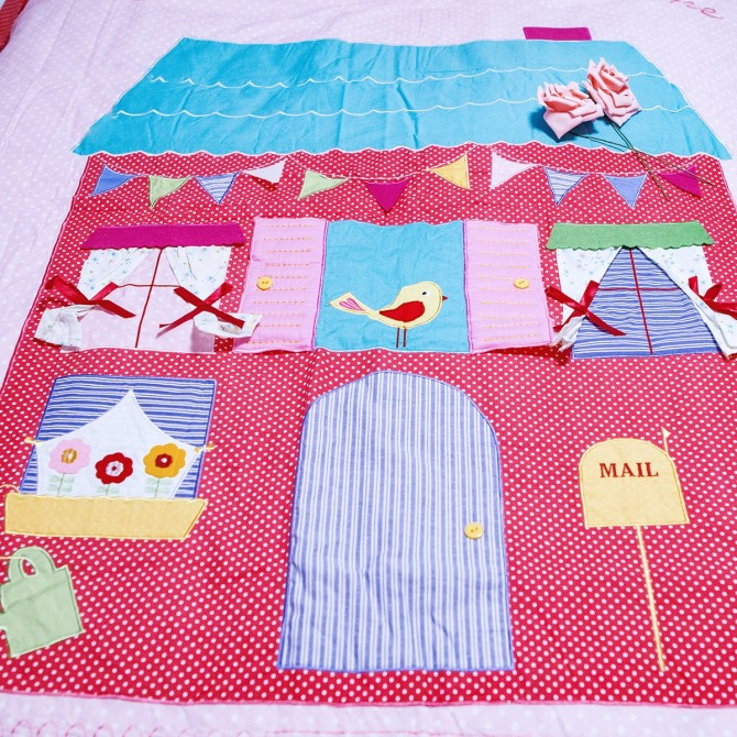 Sweet Home Pink Polka Dot Duvet Cover Set
