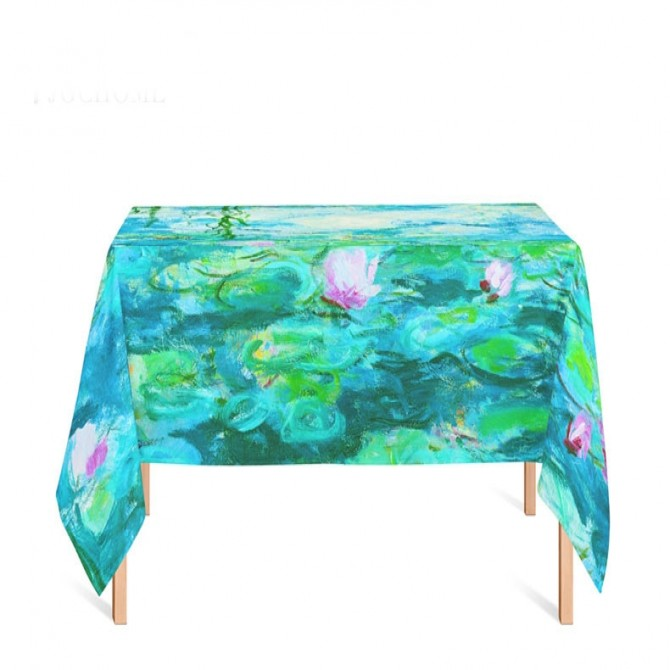 Claude Monet Water Lilies Tablecloth