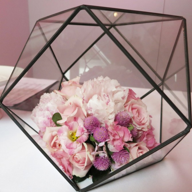 Geometric Glass Terrarium E