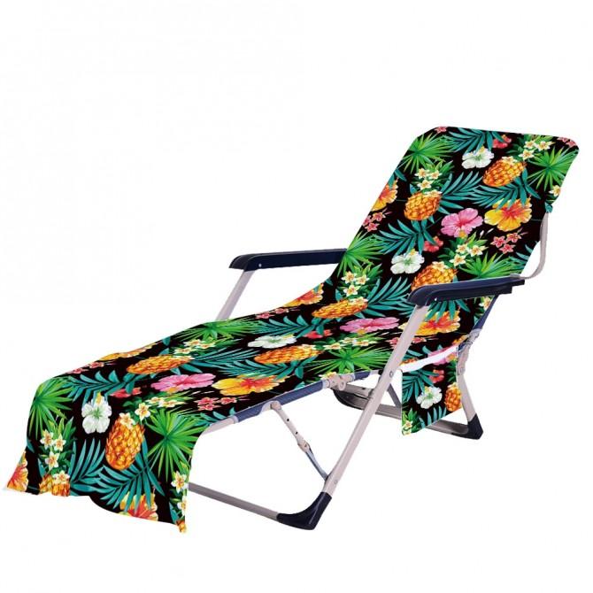Tropical Fruit Beach Chair Chaise Chair Patio Chair Cover