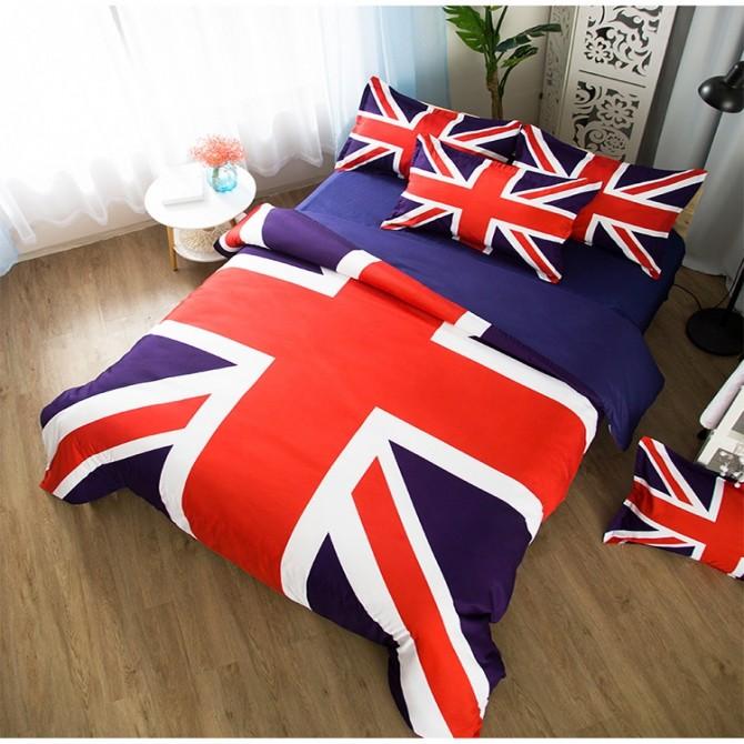 UK Flag Duvet Cover Set