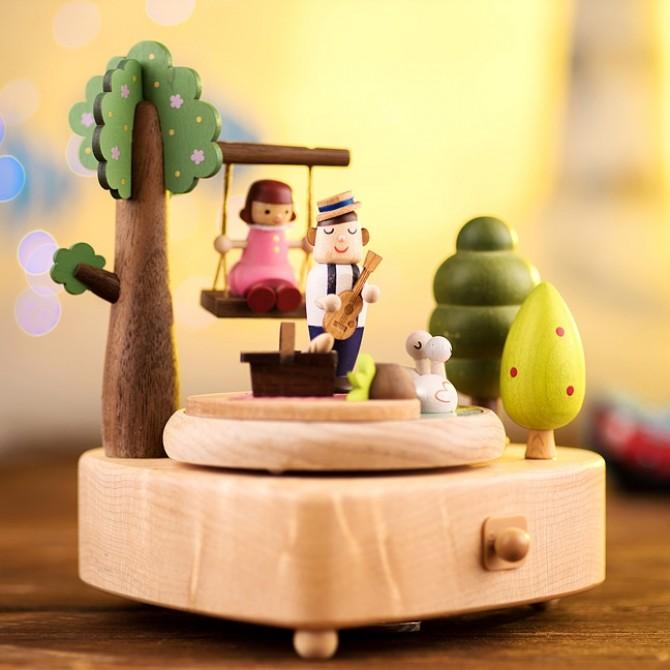 Valentine Handmade Music Box