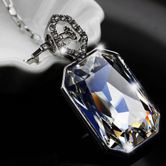 Moon River Crystal Necklace