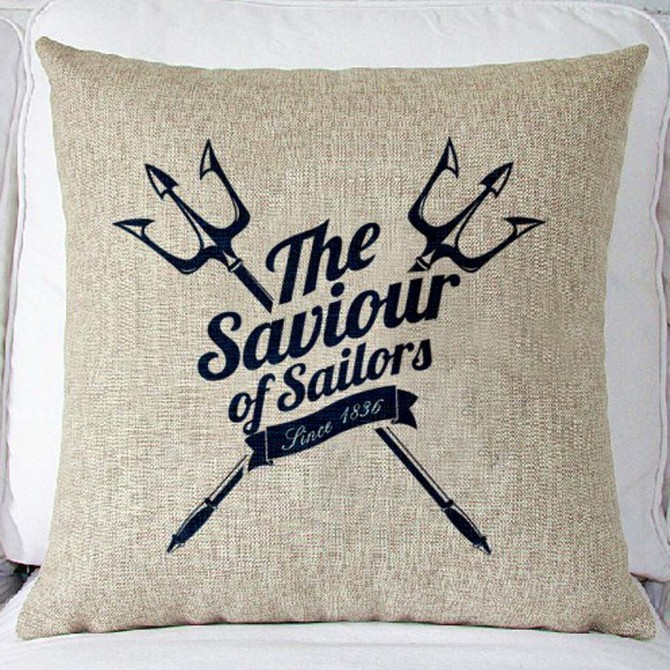 Saviour of Sailors Cushion Cover