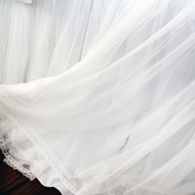 Princess Triple Layer Bed Skirt
