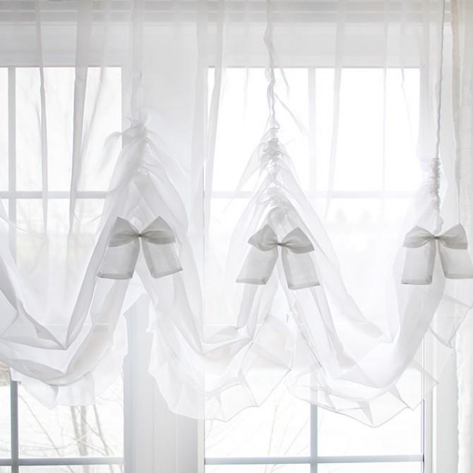 Princess Sheer Balloon Curtain Shade