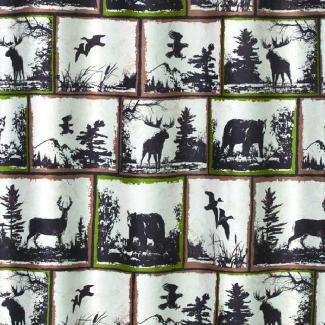 Wilderness Shower Curtain