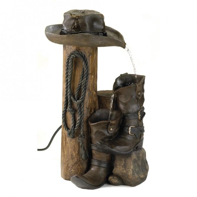 Wild West Water Fountain