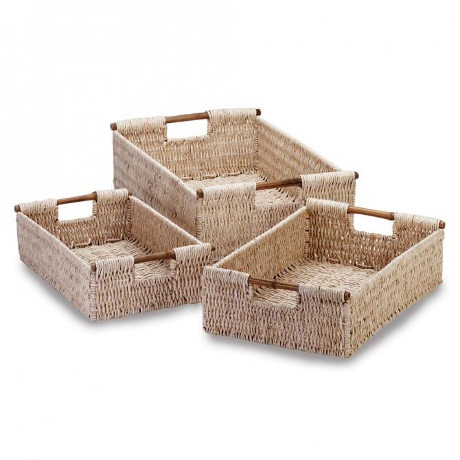 Woven Corn Nesting Baskets