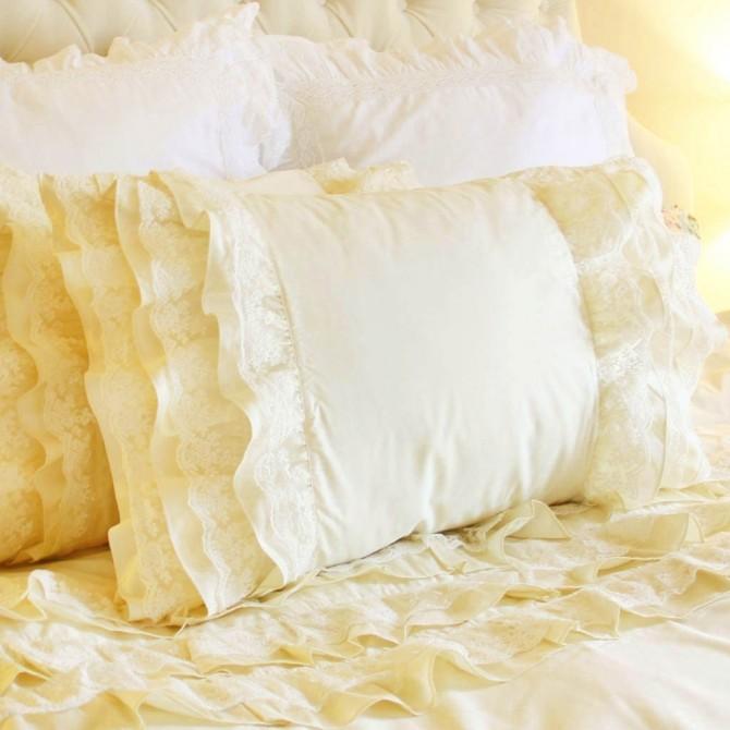 Lace Whisper Duvet Cover Set