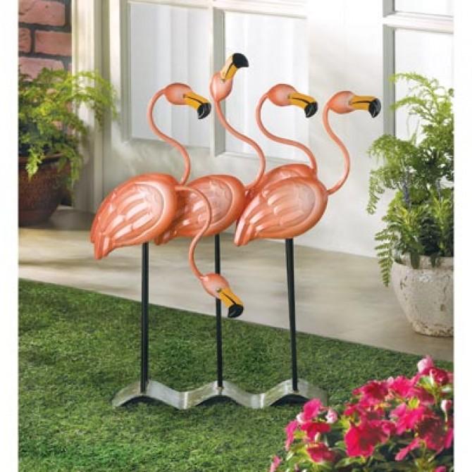 Flock O' Flamingos Flamingo Decor