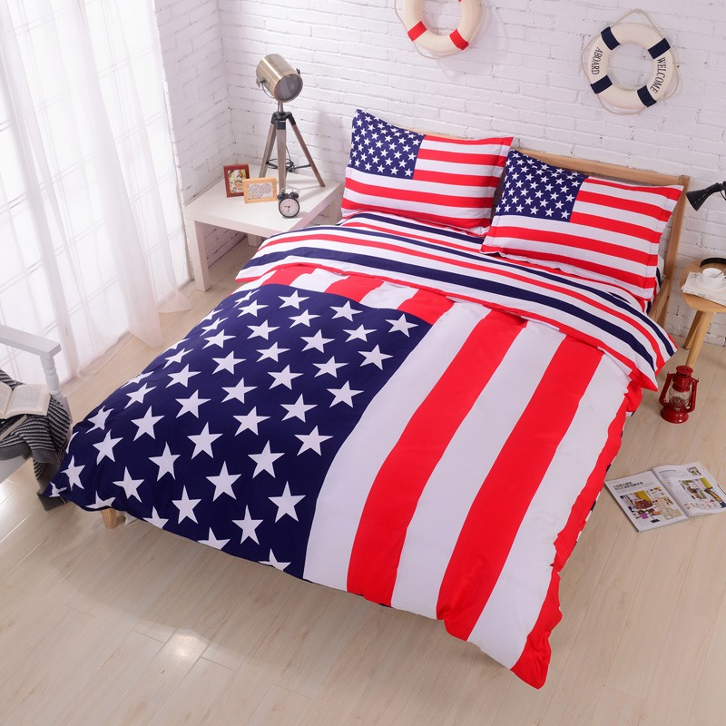 Super american flag bedding set MV93
