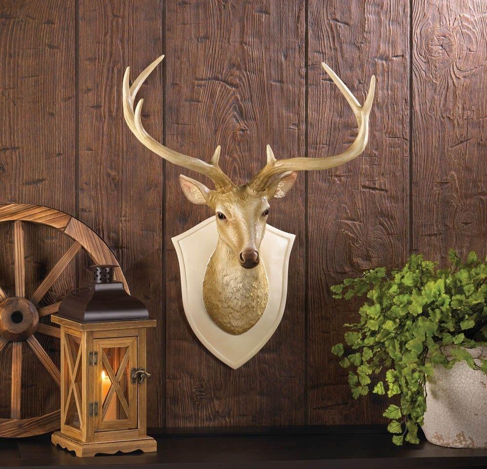 Discount Western Home Decor: Deer Bust Wall Decor