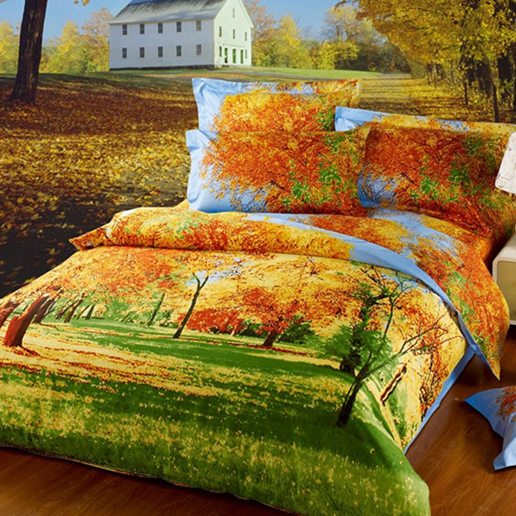 Beautiful Autumn Duvet Cover Set