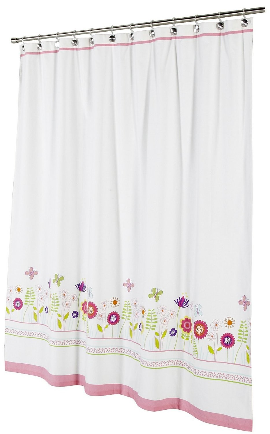 Kassatex Garden Party Shower Curtain