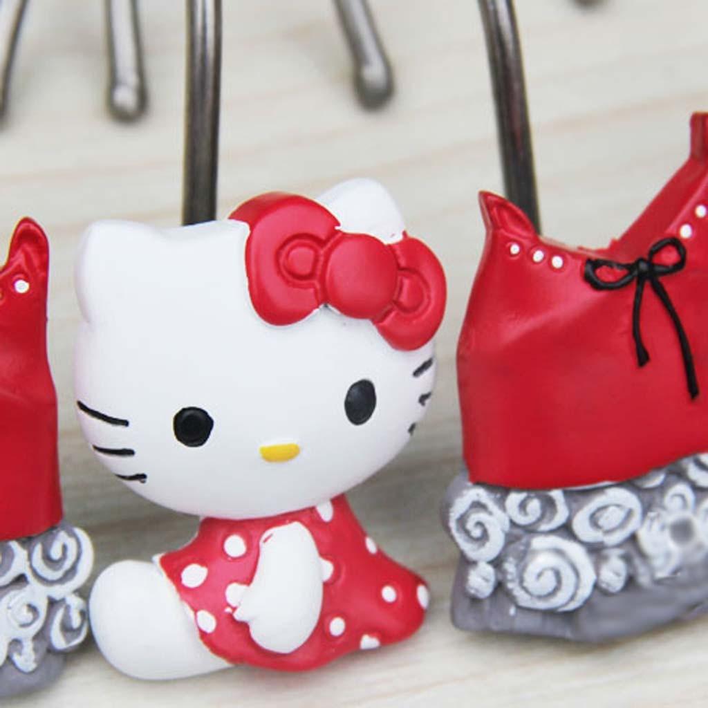 Hello Kitty Shower Curtain Hooks