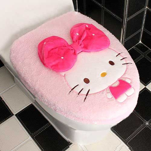 Hello Kitty Toilet Seat Cover
