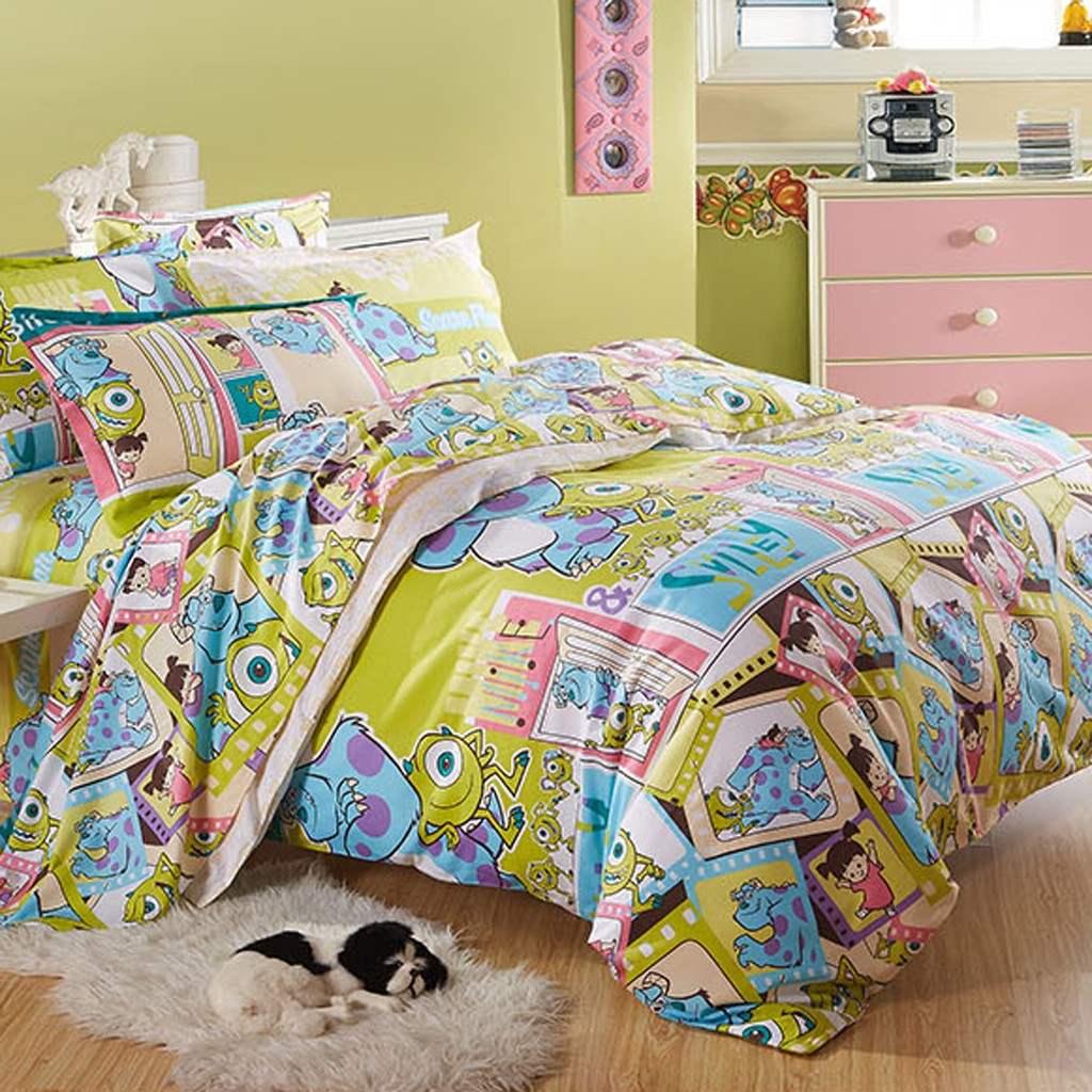 Monsters Inc Bed Set Twin