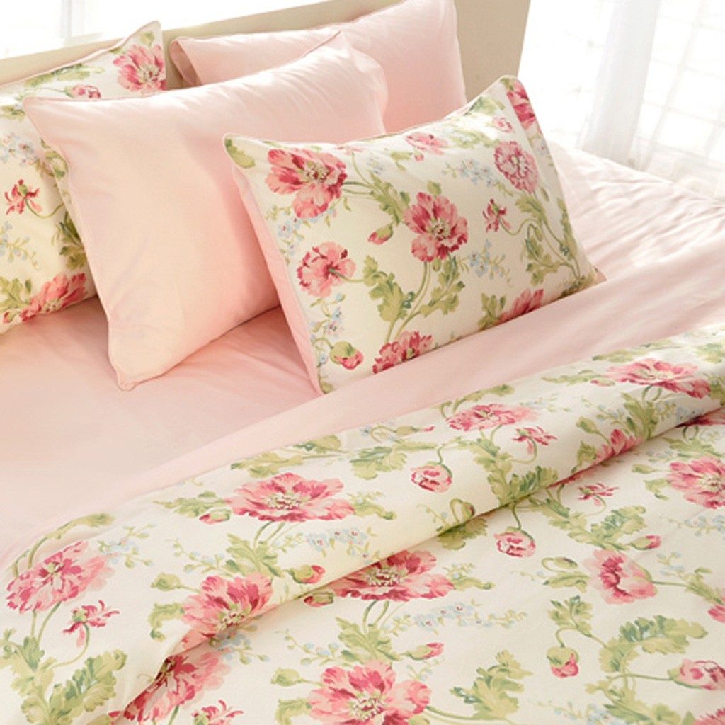Attractive flower Duvet Cover Set IY36