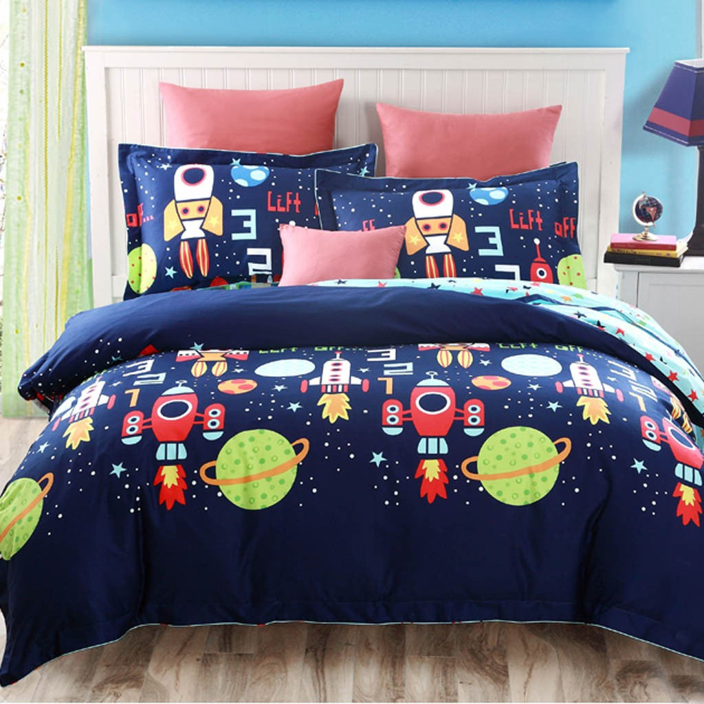 Space Full Queen Bedding