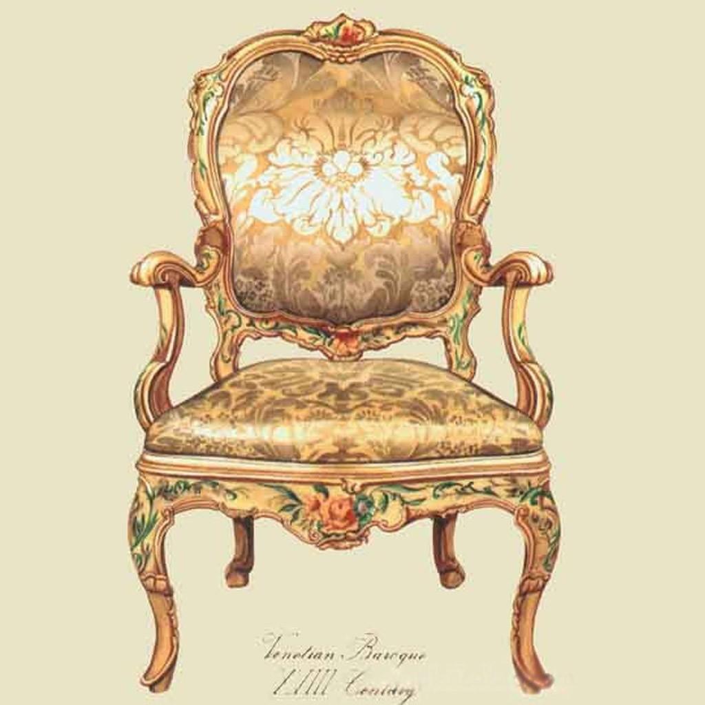 Vintage Chair Canvas Print