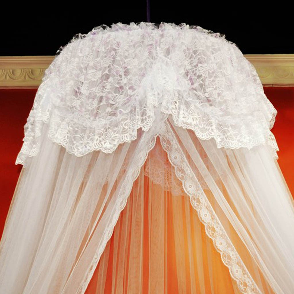 White Bed Canopy bed curtain
