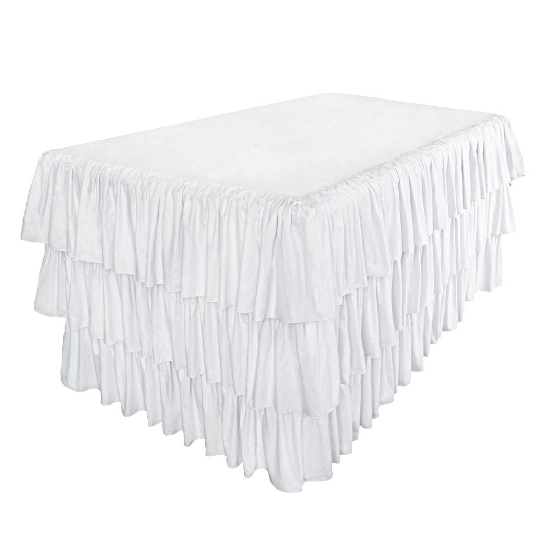 Perfect Ruffled Tablecloth