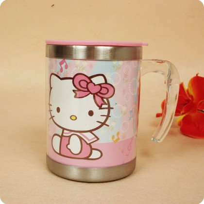 Hello Kitty Pink Cup Mug Clearance Final Sale